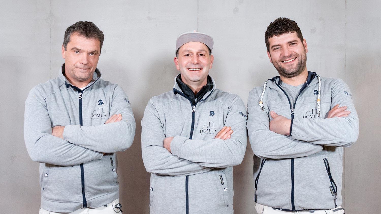 DOMUS Regiobau GmbH | Trockenbau-Team