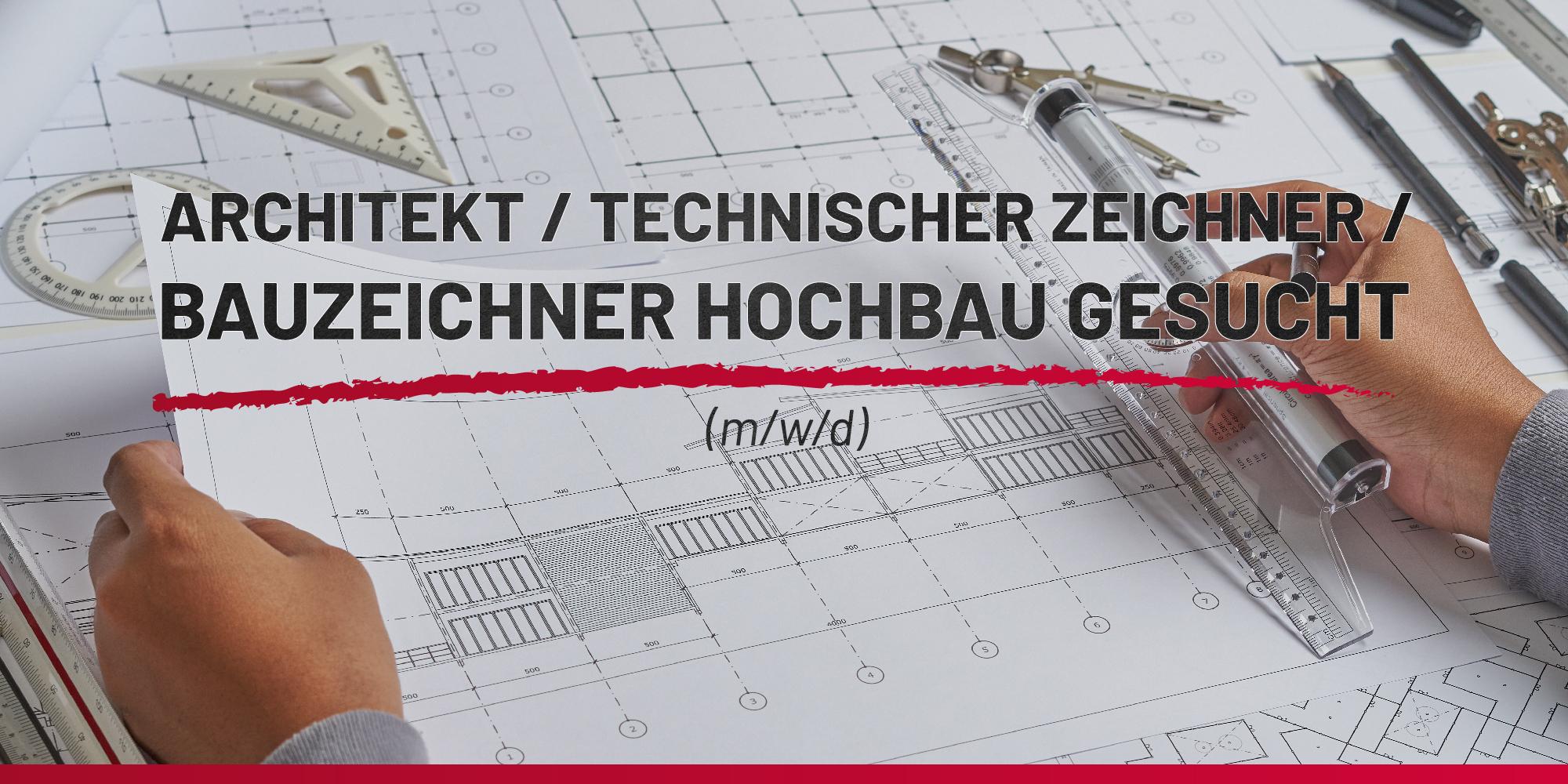 Architekt / technischer Zeichner / Bauzeichner Hochbau (m/w/d) DOMUS Regiobau GmbH | Job Thumbnail